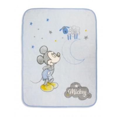 MANTA MICKEY BLUE CUNA...