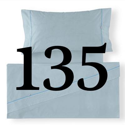 Sábana de cama de 135 cm