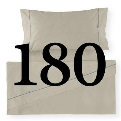 Sábana de cama de 180 cm